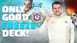 ONLY GOOD Freeze Deck! Pekka Balloon LIVE Grand Challenge Gameplay - Clash Royale