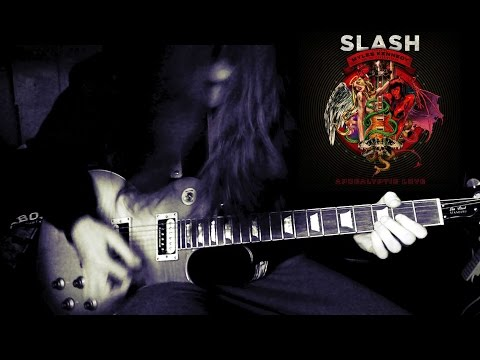 Slash – Apocalyptic Love Guitar Cover Goes Insane