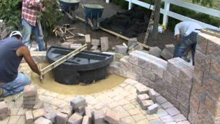 How To Construct A Wall Fountain- Meadows Farms Landscaping