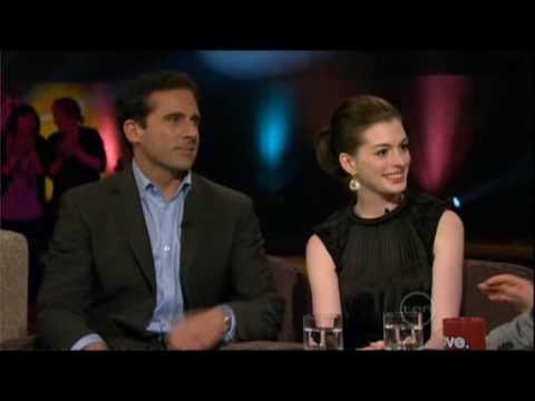 Steve Carell & Anne Hathaway interview on ROVE - Part 1 (of 2)
