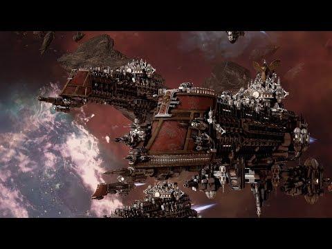 Imperial Navy (The Inquisition) vs Ork Pirates! Rank 144 - Battlefleet Gothic Armada