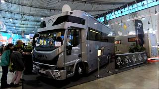 Iveco Eurocargo Luxus Camper Motorhome by RJH new model walkaround and interior K84