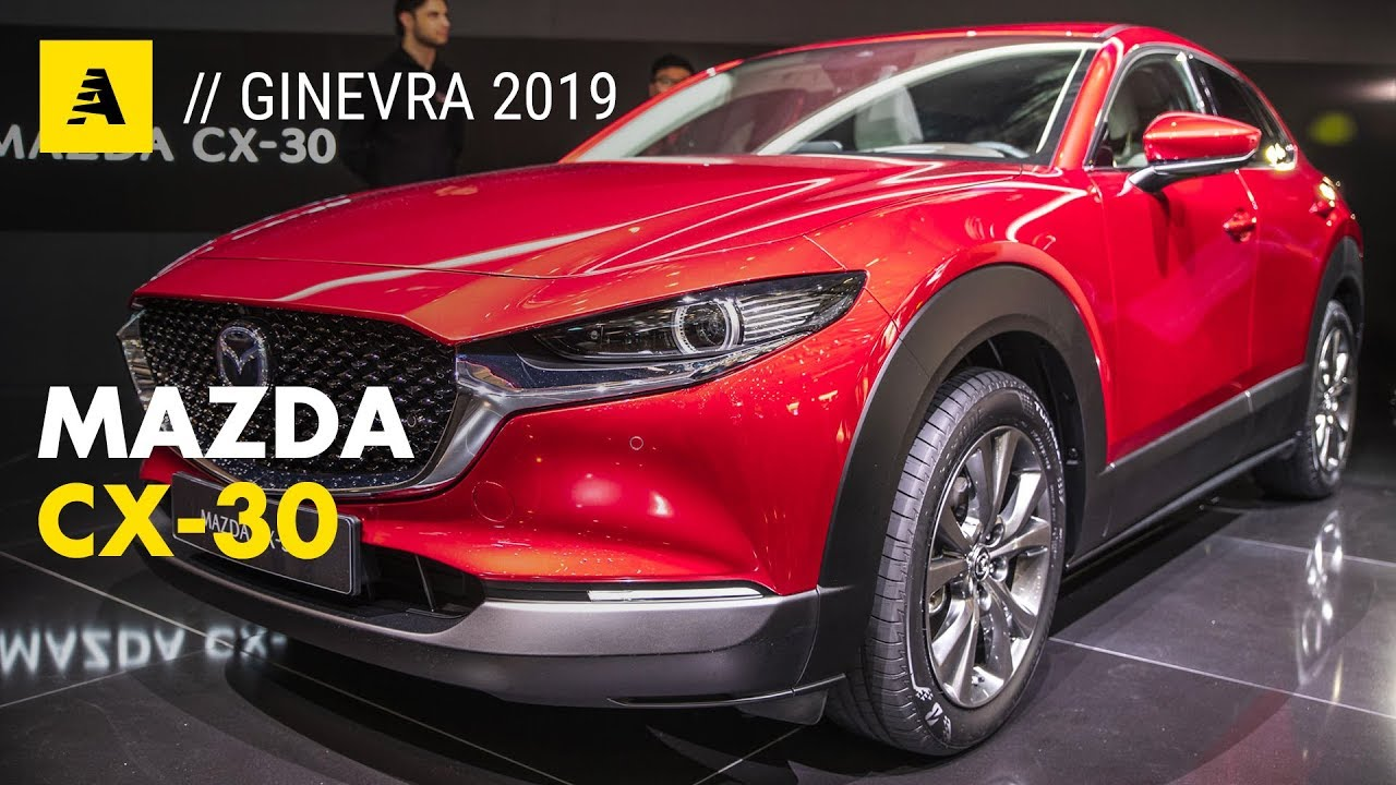 Mazda Cx 30 Al Salone Di Ginevra 2019 Nuovo Suv Compatto Anche