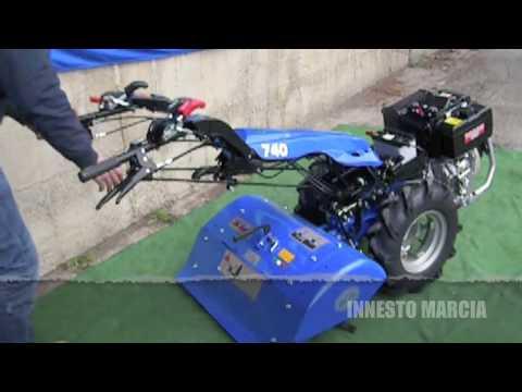 Motocoltivatore bcs con aratro rotativo al lavoro 1 avi for Motocoltivatore bcs 720