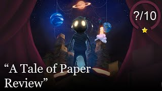 A Tale of Paper Review [PS4] (Video Game Video Review)