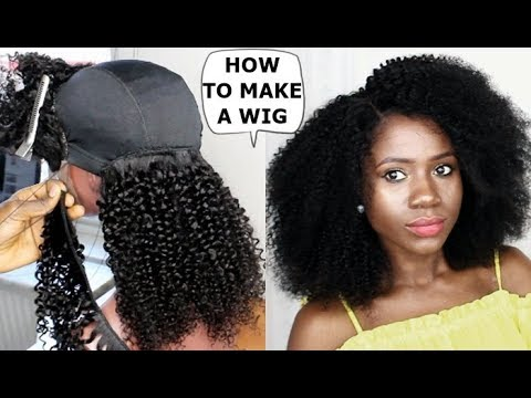 Diy How To Make A Wig Tutorial For Beginners Youtube