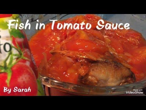 Fish In Tomato Sauce Recipe