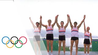 Steve Redgrave Wins First Olympic Rowing Gold - Los Angeles 1984 Olympics