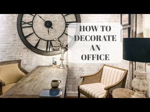 Business Office Decorating Ideas!