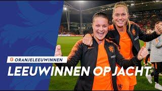 Leeuwinnen op Jacht #8: 'Eerste finale in Utrecht'