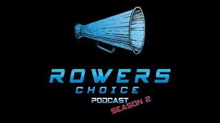 "Rowers Choice Zoomcast - S2e2 - Jamie Hamp @ Mercer Juniors - ""Wacka-Wacka"""