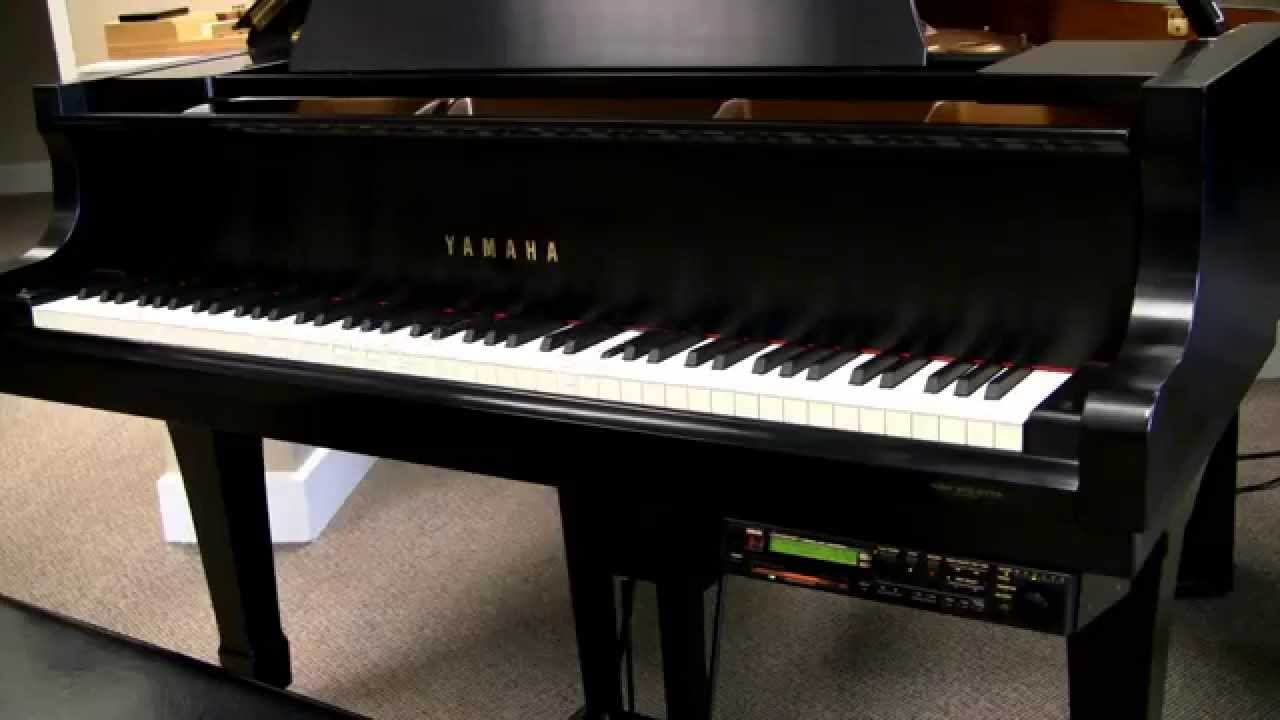 6 39 1 yamaha grand piano with disklavier youtube for Yamaha disklavier grand piano