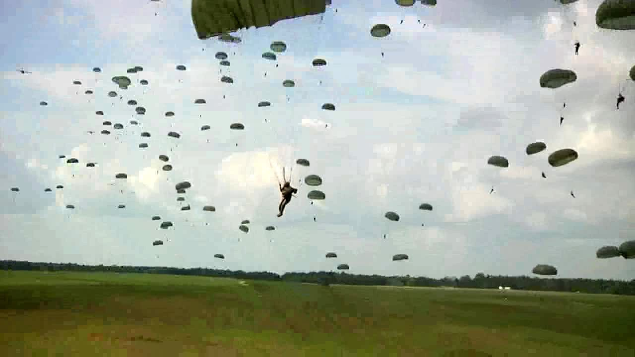 army rangers airborne assault
