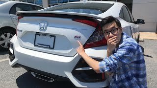 IMPULSIVELY BUYING A CIVIC Si?!