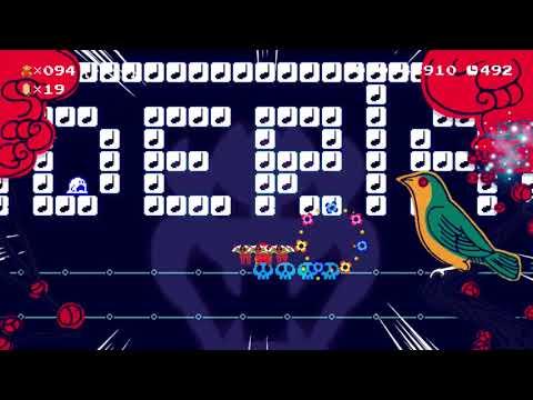 Super Mario Maker 100 Mario Challenge Super Expert No Skips 92