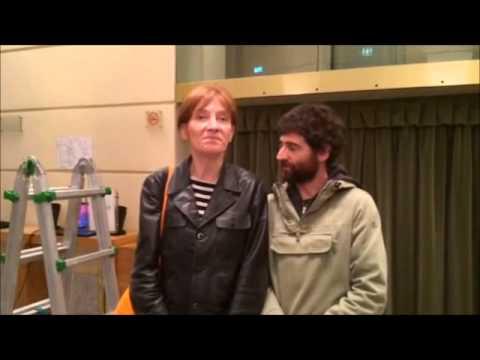 Il saluto di Valentina Diana e Lorenzo Fontana al Teatro Sociale di Valenza - 15 maggio2015