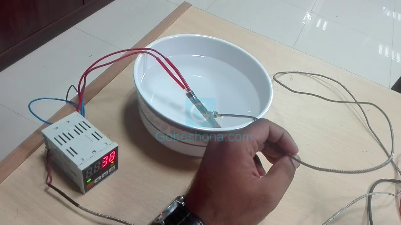 How to Interface Thermocouple with Temperature Controller- Bangla ...