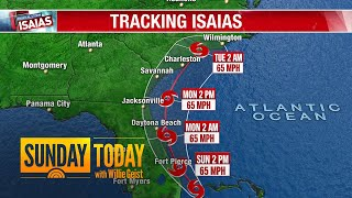 Tracking Isaias: Where Is The Storm Headed? | Sunday TODAY