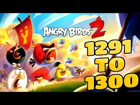 Angry Birds 2 Pig City Porkyo Levels {1291 To 1300} Three Star Walkthrough