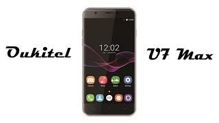 симпатичный телефон Oukitel U7 Max