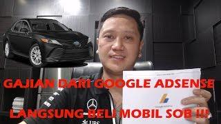 Dapat Duit dari Google Adsense Langsung aja kita beli nih Mobil