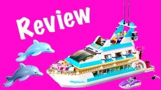 Lego Dolphin Cruiser 41015 Friends Review