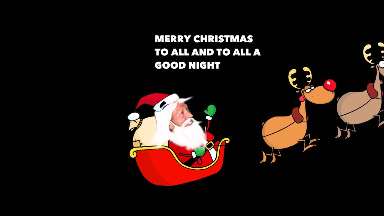 to all a good night - Merry Christmas To All And To All A Good Night
