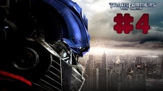 Transformers: The Game - Walkthrough - Part 4 - The Last Stand | Autobots (PC) [HD]