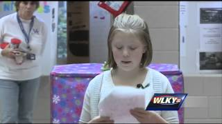 Fourth grader gets homecoming surprise from soldier