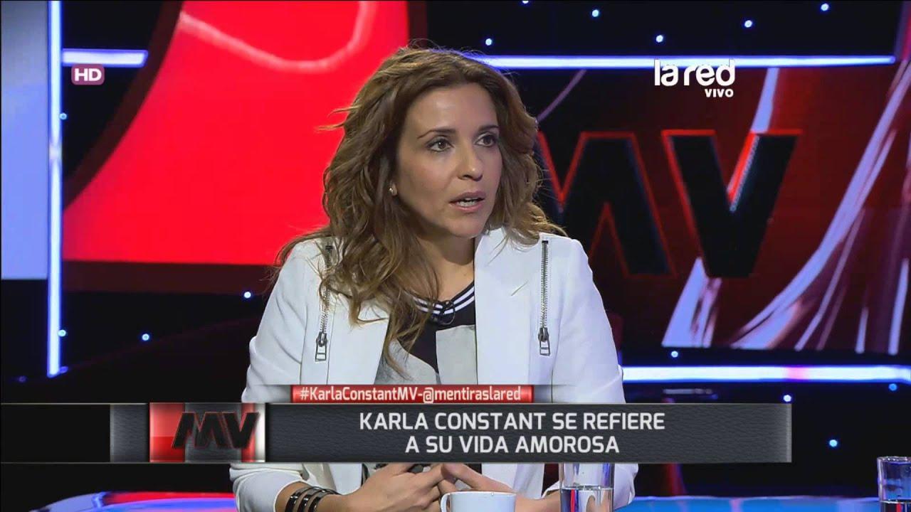 Karla Constant abandonó todo por amor - YouTube