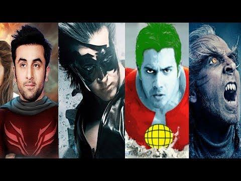 India's next superhero | Top 5 Up Coming Bollywood Superhero Movies 2018 to 2019 Latest
