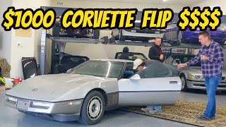 Driving My $1000 Corvette (Fixed With A $40 Part) Then Flipping For A MASSIVE PROFIT!