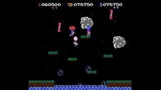 Balloon Fight 2 player NES