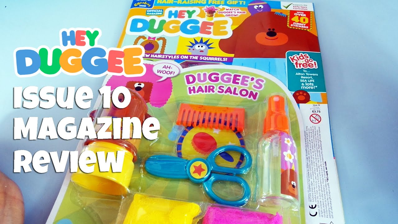 Hey Magazin Hey Duggee Magazine Review Issue 10 August 2016 Youtube