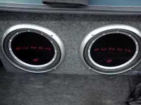2 rockford fosgate punch p1 12 youtube
