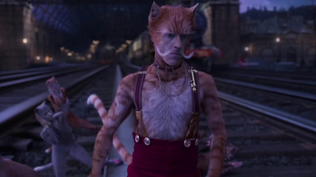 Skimbleshanks The Railway Cat Cats 2019 Full Scene Youtube