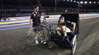 Max Verstappen & Daniel Ricciardo's Marina Bay Track Guide | F1 Singapore GP 2018