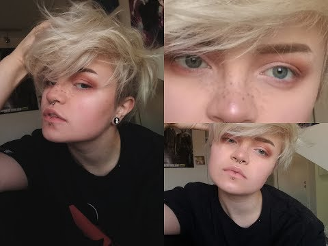 CUTE BUT ANDROGYNOUS MAKE-UP TUTORIAL