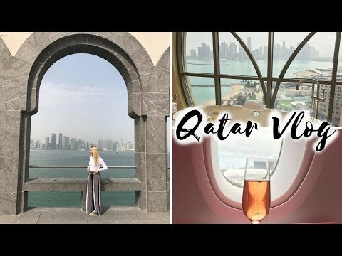 QATAR VLOG | BUSINESS CLASS UPGRADES, SHANGRI-LA | Scarlett London