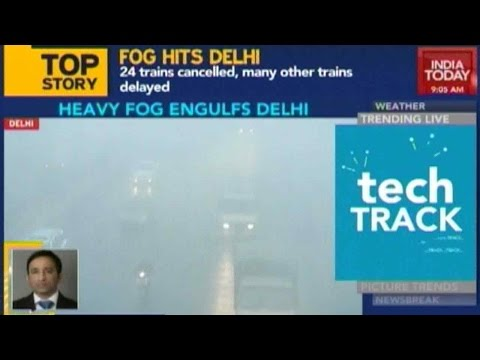 60 Flights Delayed Due To Fog In Delhi