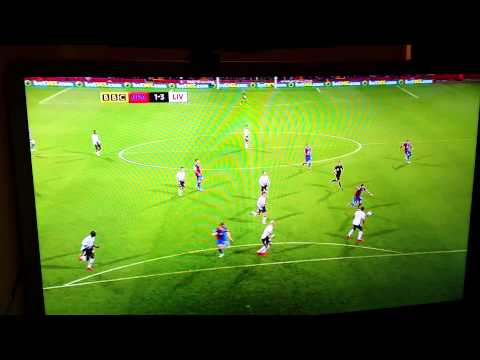 Crystal Palace vs liverpool 3-3 5/5/14 hilights
