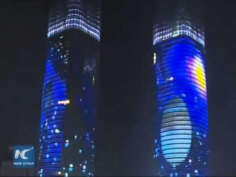 S China towers showcase world