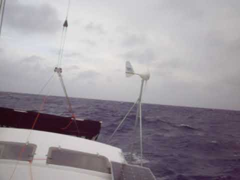 Day 2 from Fiji, Top of boat,