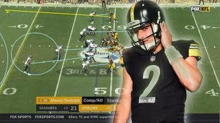 Film Study: How Mason Rudolph played in his first ever NFL game