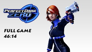 Perfect Dark Zero Speedrun in 46:14 (Any%) (Xbox One World Record)