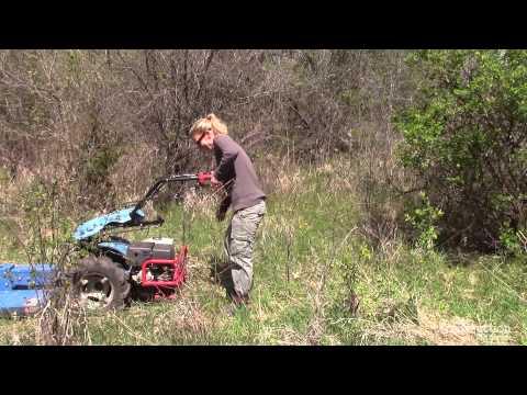 Rental Magazine Tests a Brush Cutter - YouTube