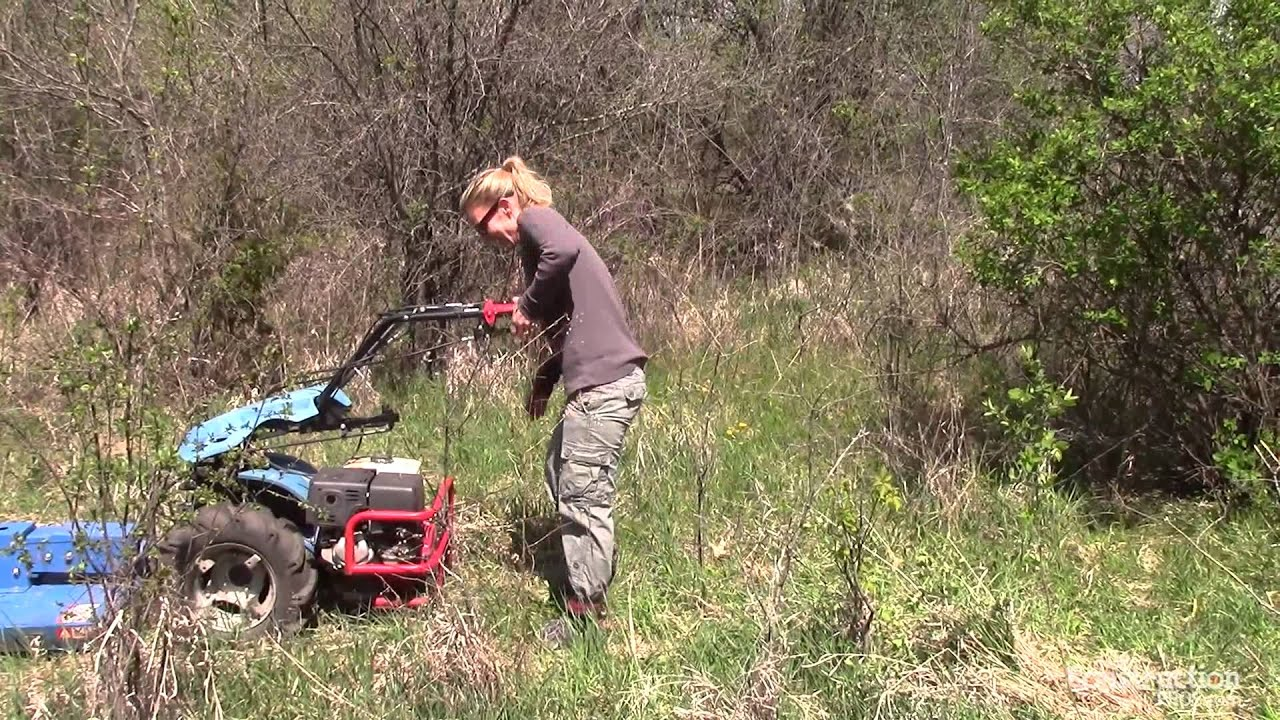 Rental Magazine Tests A Brush Cutter Youtube
