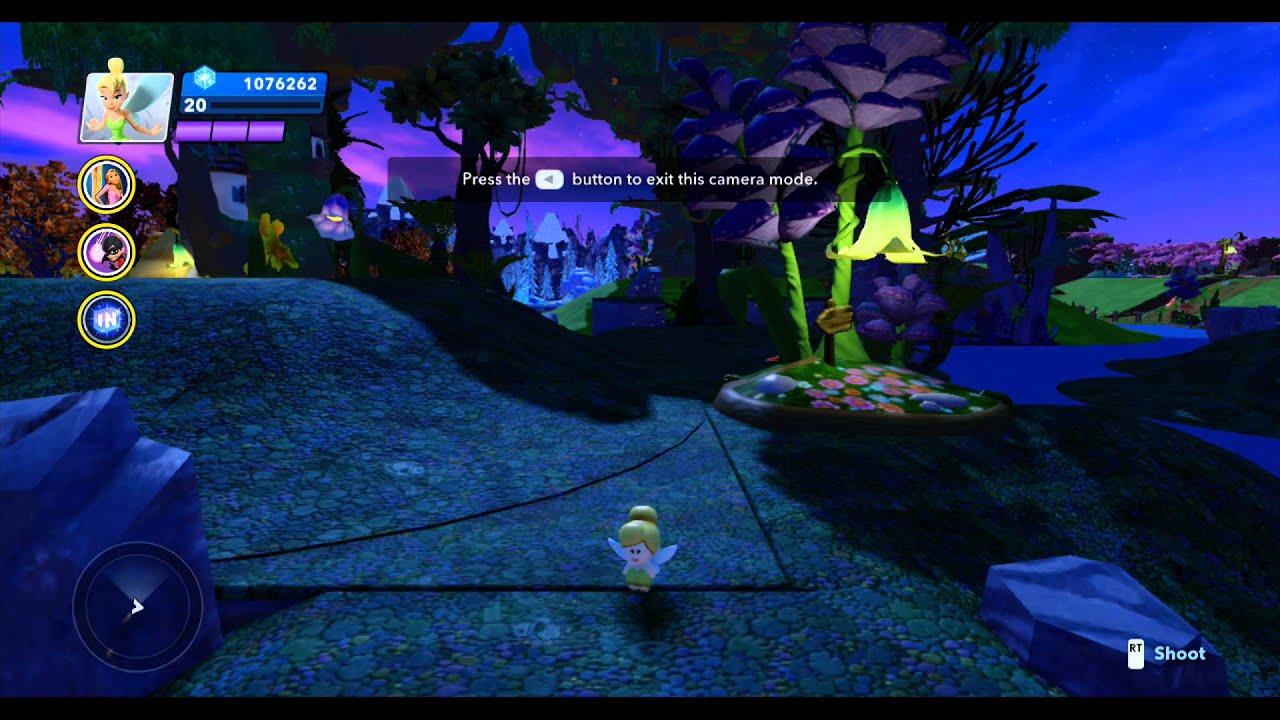 Disney Infinity, Pixie Hollow: Save the Pixie Dust Tree ...