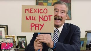 Former Mexican President Vicente Fox Trolls Donald Trump In The Best Way