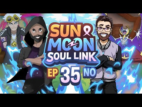 Pokémon Sun & Moon Soul Link Randomized Nuzlocke w/ Nappy + Shady - Ep 35